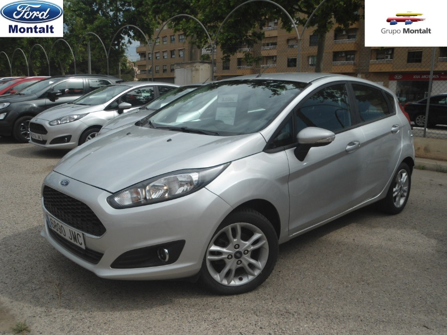FORD Fiesta Gris / Plata Gasolina Manual Berlina 5 puertas 2016