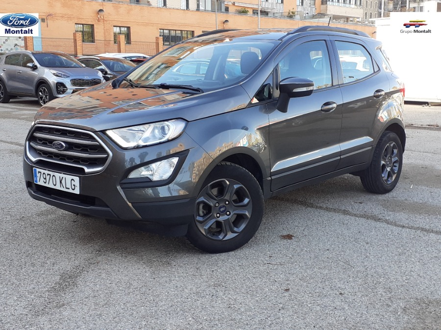 FORD EcoSport Gris / Plata Diesel Manual 4x4 SUV 5 puertas 2018