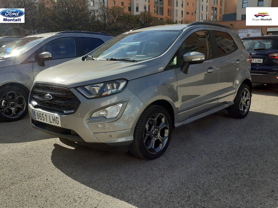 FORD EcoSport Gris / Plata Diesel Manual 4x4 SUV 5 puertas 2020